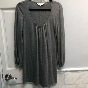 Trina Turk Silver Shift mini dress